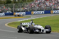 Formel 1 - Williams: Freude bei Webber - Ärger bei Heidfeld