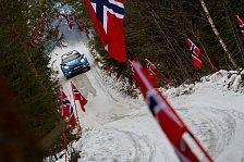 Rallye Schweden: Östberg startet, Mikkelsen schaut zu
