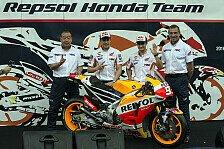 MotoGP - Honda stellt sein neues MotoGP-Flaggschiff vor