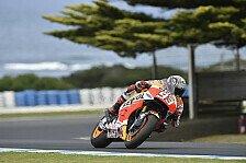 Repsol Honda Australien 2016: Marquez Hayden auf Phillip Island Teamkollegen