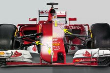 Formel 1 - Der Ferrari SF16-H im Technik-Check