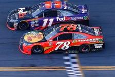 NASCAR - Hamlin gewinnt spektakulär das Daytona 500