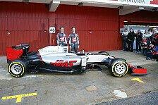 Formel 1 - Bilder: Präsentation Haas VF-16