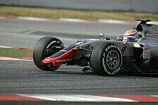 Formel 1 - Haas F1 sorgt für erste rote Flagge der Tests