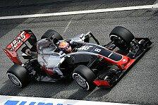 Formel 1 - Nach Flügel-Panne: Haas verstärkt Frontflügel