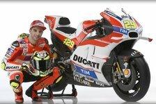 MotoGP - Präsentation der GP16: Kampfansage von Ducati