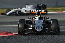 Formel 1 - Force India: Platz vier ein gutes Ziel