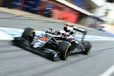 Formel 1 - Bis Australien: McLaren will halbes Auto ändern