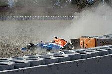 Formel 1 - Haryanto: Erster Crash in der Formel 1