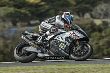 Superbike - Reiterberger stürzt nach Reifenschaden mit 180km/h