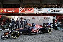 Formel 1 - Bilder: Barcelona II - Präsentation Toro Rosso STR11