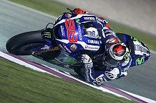 MotoGP - Lorenzo dominiert Katar-Test, Rossi Dritter