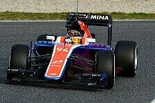 Formel 1 - Manor in Australien: Ein Rennen der Premieren
