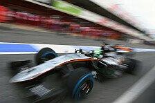 Formel 1 - Force India: Ohne Updates in die F1-Saison 2016