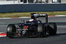Formel 1 - McLaren in Australien: Schon wieder Probleme