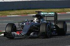 Formel 1 - Erklärt: Hamiltons und Rosbergs Reifenwahl