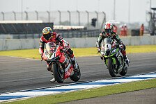 Superbike - Davies bricht Kawasaki-Dominanz