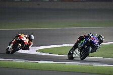 MotoGP - Lorenzo holt Pole in Tausendstelschlacht von Katar