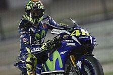 MotoGP - Rossi in Katar: Aus Reihe zwei an die Spitze