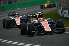 Formel 1 - Wehrlein: Haryanto stärker als befürchtet