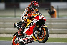 MotoGP - Marquez dominiert Warm-Up in Katar