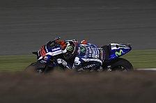 MotoGP - Lorenzo siegt in Katar nach Vierkampf