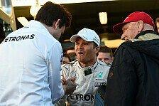 Formel 1 - Video: Wie Lauda auf dem Klo von Rosbergs Rücktritt erfuhr