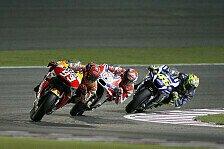MotoGP - Rossi gesteht: Nie eine Chance gegen Top-Drei