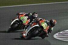 MotoGP - Aprilia in Argentinien: Entwicklung im Rennbetrieb