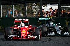 Formel 1 - Analyse: Ferrari serviert Mercedes Australien-Sieg