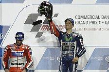 MotoGP - Pfiffe am Podium: Lorenzo versteht die Welt nicht