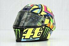 MotoGP - Bilder: Katar GP - Valentino Rossis Helm für die MotoGP-Saison 2016