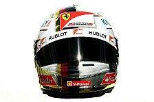 Formel 1 - Bilder: Australien GP - Fahrerhelme 2016