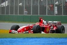 Formel 1 - Michael Schumacher möchte so viele Punkte wie möglich holen
