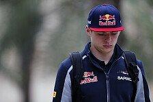 Formel 1 - Verstappen entschuldigt sich bei Toro Rosso