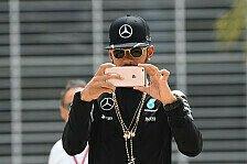 Formel 1 - Hollywood-Hamilton plant Kinofilm-Karriere