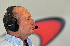 Ron Dennis wurde als Vorstandvorsitzender des McLaren-Konzerns beurlaubt