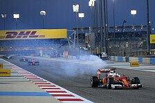 Formel 1 - Live-Ticker: Das Rennen in Bahrain