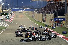 Formel 1 - Bahrain GP: Rosberg setzt Siegesserie fort
