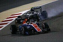 Formel 1 - Manor in China: Stunde der Wahrheit