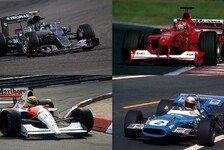 Formel 1 - Rosberg statistisch auf dem Weg zum Weltmeister
