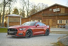 Auto - Kraftkur für den Ford Mustang GT