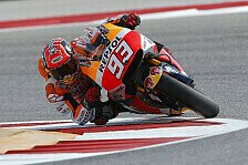 MotoGP - FP3 in Austin: Marquez weiter unschlagbar