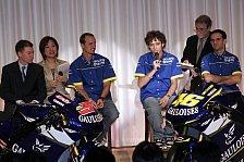 MotoGP - Yamaha stellte YZR-M1s in Tokio vor