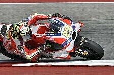 MotoGP - Warm-Up: Marquez geschlagen, Lorenzo am Boden