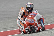 MotoGP - Torpedo-Crash: Pedrosa schießt Dovizioso ab