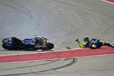 MotoGP - Bilder: American GP - Sturz-Festival