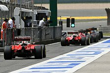 Formel 1 - Fahrer fluchen über Pirellis Reifendrücke in China