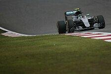 Formel 1 - Rosberg mit Reifenvorteil zum Sieg-Hattrick?