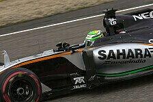 Formel 1 - Force India in Russland: Endlich wieder punkten